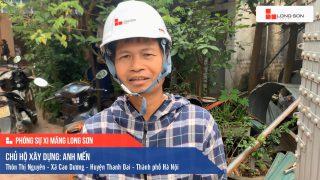 Phóng sự công trình sử dụng Xi măng Long Sơn tại Hà Nội 14.10.2020