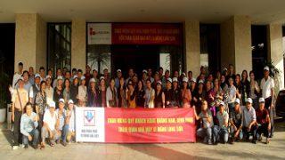 Xi măng Long Sơn chào mừng Quý Khách hàng tỉnh Quảng Nam, Bình Định về tham quan Công ty.