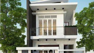 Các giải pháp thiết kế mặt tiền cho những ngôi nhà có diện tích hẹp.