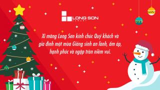 Xi măng Long Sơn – Chúc mừng giáng sinh và năm mới 2021.