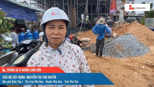 Phóng sự công trình sử dụng Xi măng Long Sơn tại Phú Yên 29.01.2021