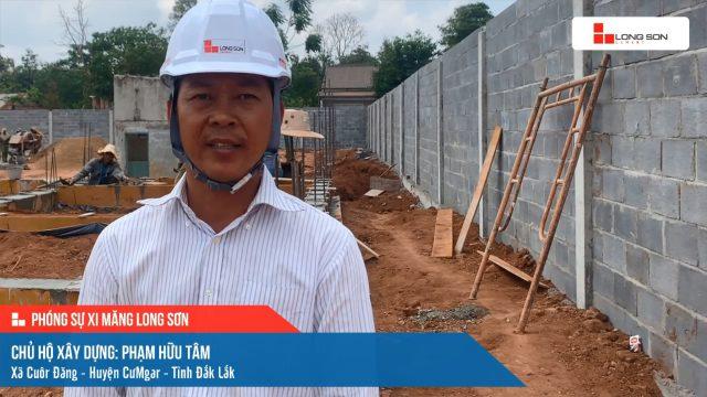 Phóng sự công trình sử dụng Xi măng Long Sơn tại Đắk Lắk 17.04.2021