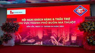 Xi măng Long Sơn – Hội nghị Khách hàng & thầu thợ Thành Phố Buôn Ma Thuật
