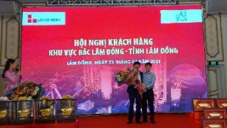 Hội nghị Khách hàng Xi măng Long Sơn khu vực Bắc Lâm Đồng – tỉnh Lâm Đồng.