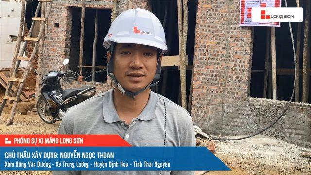 Phóng sự công trình sử dụng Xi măng Long Sơn tại Thái Nguyên 18.04.2021
