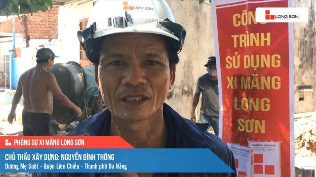 Phóng sự công trình sử dụng Xi măng Long Sơn tại Đà Nẵng 18.06.2021