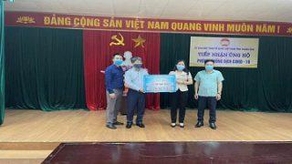 Công ty Xi măng Long Sơn ủng hộ 5 tỷ đồng phòng, chống dịch COVID-19 và Quỹ cứu trợ tỉnh Thanh Hóa.