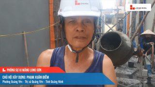 Phóng sự công trình sử dụng Xi măng Long Sơn tại Quảng Ninh 18.06.2021