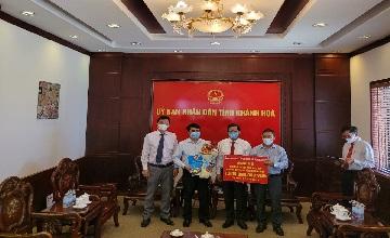 Công ty Long Sơn ủng hộ 4 tỷ đồng hỗ trợ phòng, chống dịch Covid-19.