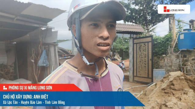 Phóng sự công trình sử dụng xi măng Long Sơn tại Lâm Đồng ngày 26/07/2021