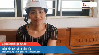 Phóng sự công trình sử dụng xi măng Long Sơn tại Quảng Ninh ngày 22/09/2021
