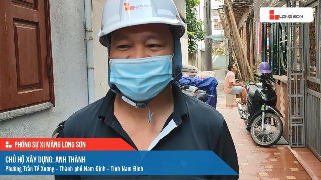 Phóng sự công trình sử dụng xi măng Long Sơn tại Nam Định ngày 22/09/2021