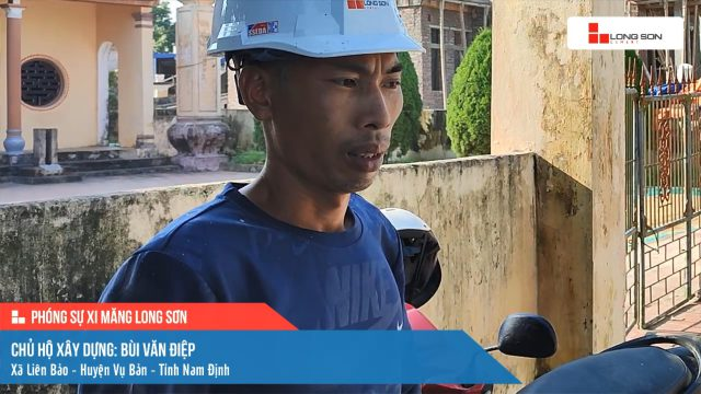 Phóng sự công trình sử dụng Xi măng Long Sơn tại Nam Định ngày 24/10/2021